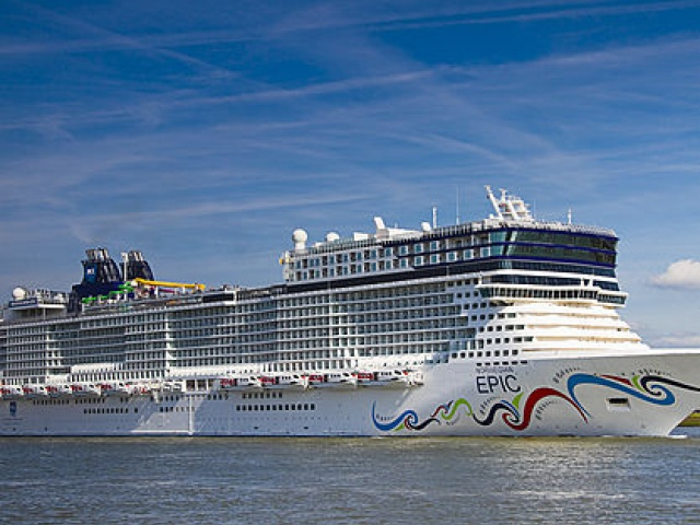 Cruise Ship 'Norwegian Epic'