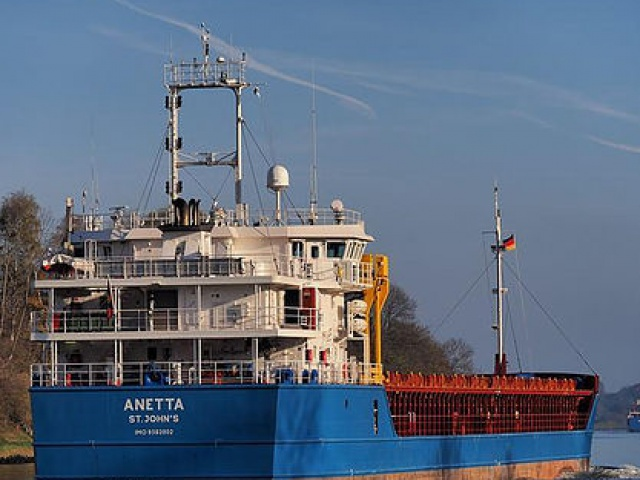 Vessels 'Eva' and 'Anetta'